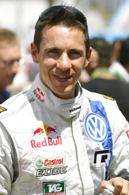 WRC 2013 JULIEN INGRASSIA portrait.