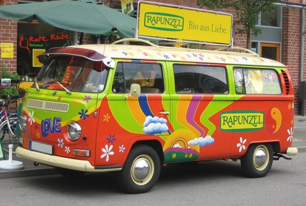 COMBI VW La référence des hippies des années 60