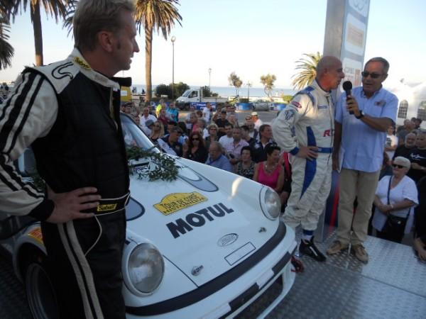 CORSE HISTO 2012 GACHE sur le podium arrivee a Ile Rousse autonewsinfo