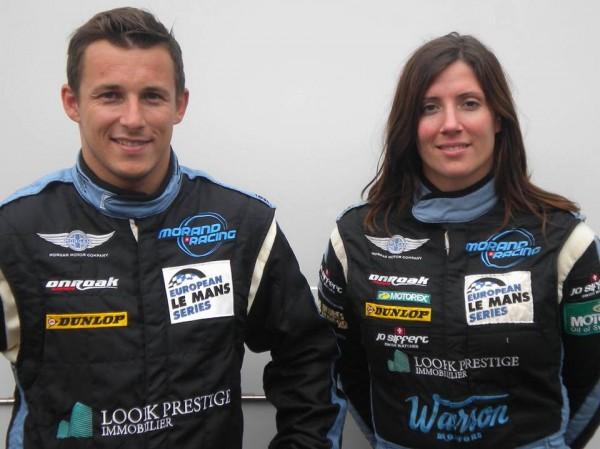ELMS-2013-Team-MORAND-RACING-Christian-KLIEN-et-Natacha-GACHNANG