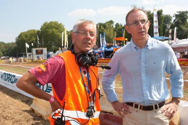 Le Directeur de course et Christophe GREFFET conseiller général