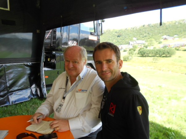 MONT-DORE-2013-Interview-Romain-DUMAS-avec-Gilles-GAIGNAULT-photo-autonewsinfo.com