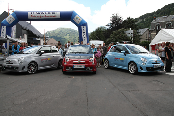 MONT-DORE-2013-Les-FIAT-ABARTH des organisateurs -Photo-Gilles-VITRY-autonewsinfo