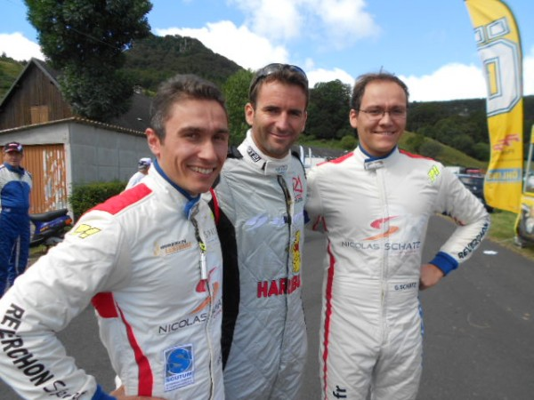 MONT-DORE-2013-Nico-et-Geoffrey-SCHATZ-avec-Romain-DUMAS-Photo-autonewsinfo.com