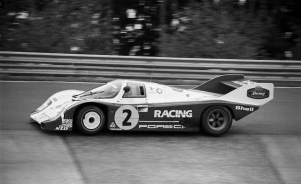 NURBURGRING Stefan BELLOF-record du tour Nordschleife en 6 minutes 11 secondes et 13 centièmes aux 1000 Km du Nürburgring en 1983-©Manfred GIET