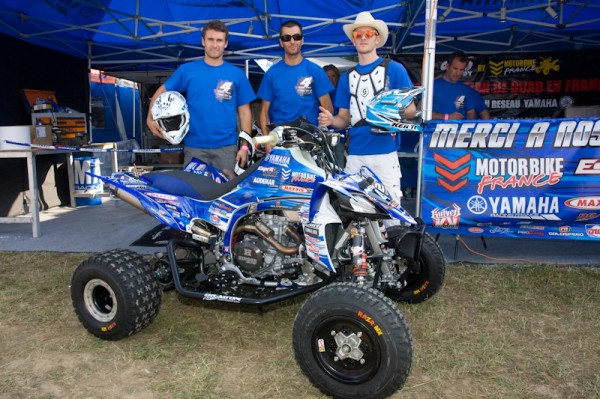 Equipe N°4 YAMAHA-AUDEMAR Photo Michel PICARD autonewsinfo