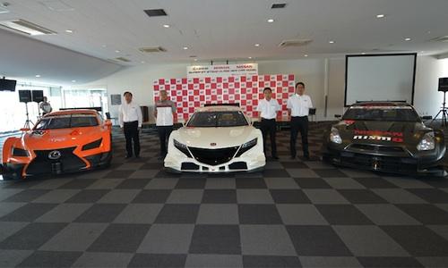 SUPER-GT-2014-Présentation-a-SUZUKA-des-futures-voitures