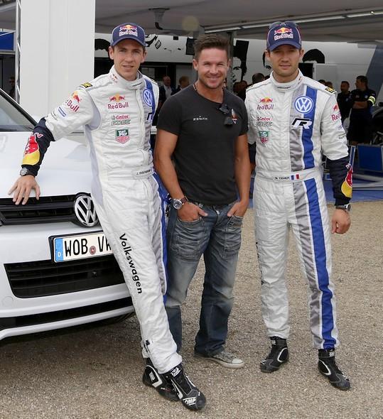 WRC-2013-ALLEMAGNE-Julien-Ingrassia-Félix-Baumgartner-Sébastien-Ogier