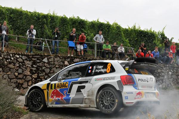 WRC 2013 ALLEMAGNE POLO VW de Sebastien OGIER Julien Ingrassia photo Jo LILLINI