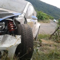 WRC-2013-ALLEMAGNE-VW-POLO-accident-de-Seb-OGIER-Vendredi-23-aout-ES-3-Photo-DR