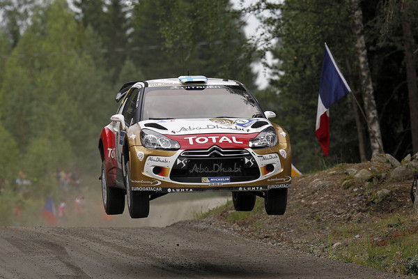 WRC-2013-FINLANDE-DS3-CITROEN-HIRVONEN-Photo-Jo-LILLINI.