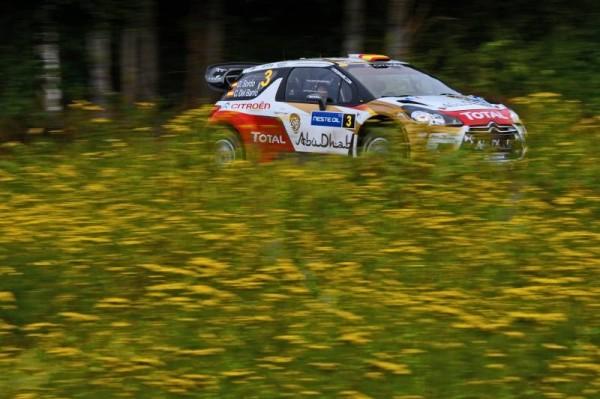 WRC 2013 FINLANDE La DS3 CITROEN Dani SORDO.