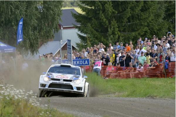 WRC 2013 FINLANDE POLO VW de Seb OGIER