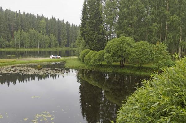 WRC 2013 FINLANDE VW Polo de MIKKELSEN.