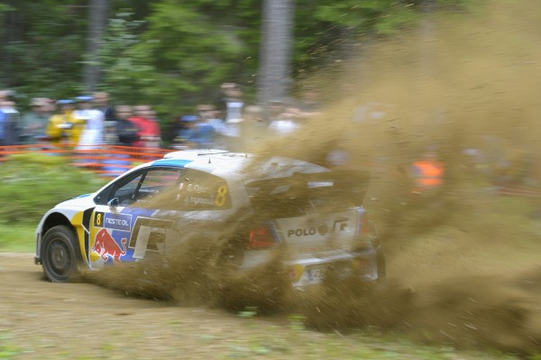 WRC-2013-FINLANDE-VW-POLO-Sébastien-Ogier-1er-jour-Jeudi-1er-aout