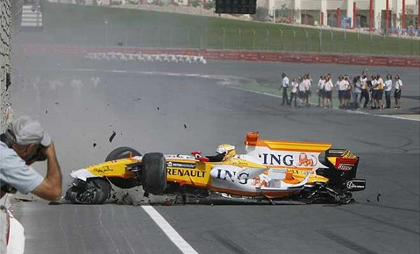BEN SULAYEM Crash RENAULT DUBAI