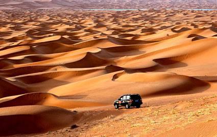 CHINA GRAN RALLY Les recos dans les dunes