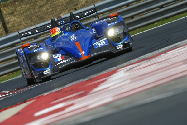 ELMS 2013 BUDAPEST HUNGARORING - NELSON PANCIATICI file vers la victoire - photo Team