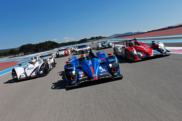 ELMS-2013-Test-26-mars-circuit-Paul-Ricard-Alpine-Signatech-et-peloton-des-LMP2-Photo-DPPI-Le-Meur-pour-WEC-ELMS