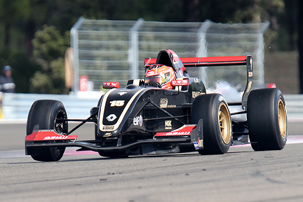EUROCUP FORMULE RENAULT 2013 PAUL RICARD ESTEBAN OCO ART Junior 1er course 2 le 29 septembre - photo Gilles VITRY.