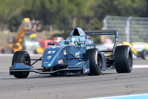 EUROCUP FORMULE RENAULT 2013 PAUL RICARD - SIMON TIRMAN - course 2 le 29 septembre - photo Gilles VITRY