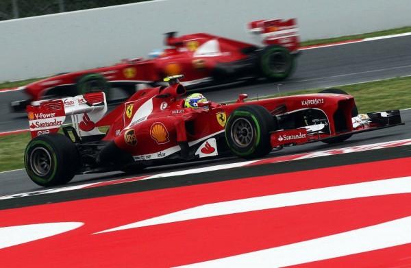F1-2013-BARCVELONE-MASSA-ET-ALONSO-FERRARI