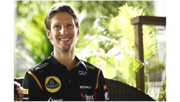 F1-2013-SINGAPOUR-ROMAIN-GROSJEAN-3éme-des-qualifs-HEU-REUX