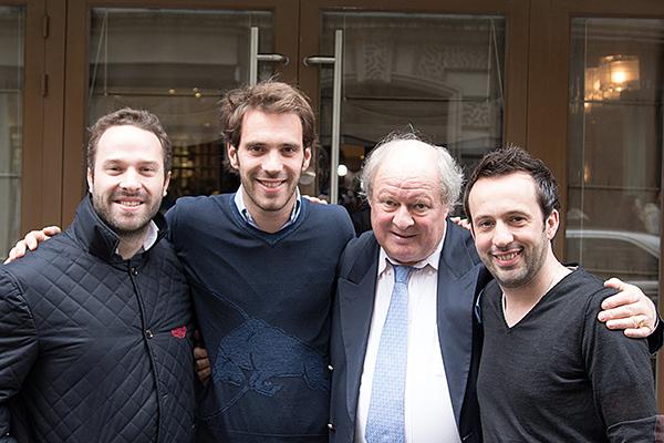 F1 2013 VERGNE dej presse PARIS 7 Mars VIOLON D INGRES avec Julien FEBREAU Gilles GAIGNAULT et Renaul DERLOT Photo Gilles VITRY autonewsinfo