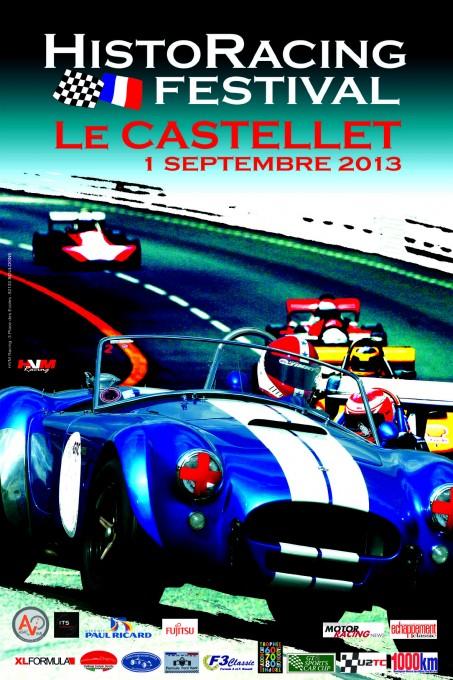 HISTORACINBG FESTIVAL LE CASTELLET Affiche