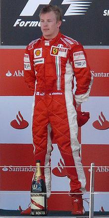 Kimi Raikkonen GP GB 2007