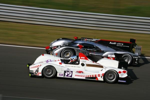 En 2011 - Au volant de la FLM du Team JMB pour Olivier Lombard.