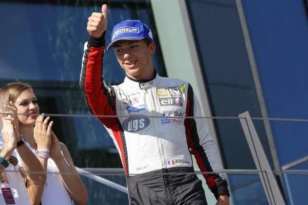 PIERRE GASLY Podium au REDBULLRING Photo FFSA DPPI