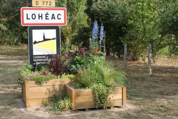 RALLYCROSS LOHEAC 2013 - Panneau entrée LOHEAC - photo Emmaniel LEROUX