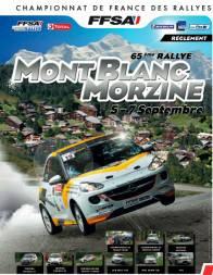 RALLYE 2013 MONT BLANC MORZINE affiche