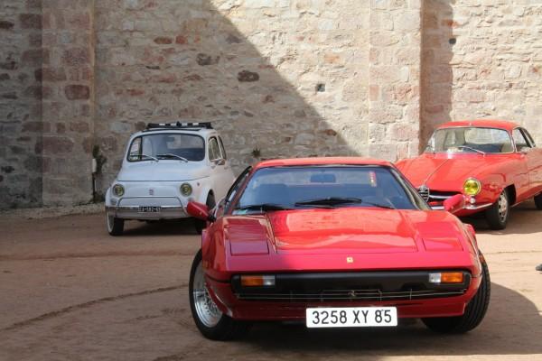 TROFEO-CLASSIC-2013-entre-FIA-500-FERRAREI-308-et-ALFA-ROMEO