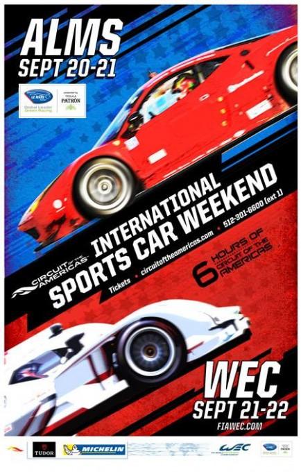 WEC 2013 AUSTIN TEXAS Affiche