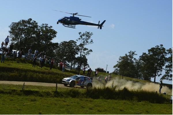 WRC 2013 AUSTRALIE J2 MIKKELSEN POLO.