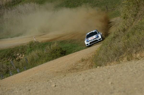 WRC 2013 AUSTRALIE J2 OGIER POLO VW.