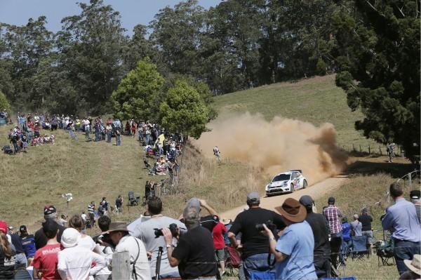 WRC 2013 AUSTRALIE MIKKELSEN POLO VW-R.j
