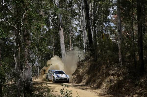 WRC 2013 AUSTRALIE POLO VW Andreas MIKKELSEN