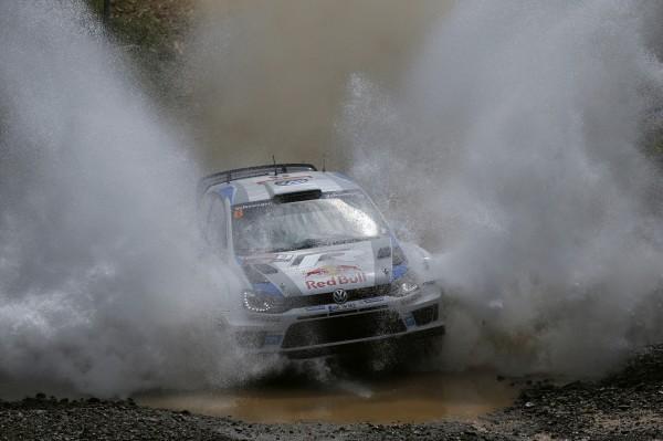 WRC 2013 AUSTRALIE POLO VW Seb OGIER dimanche 15 septembre file vers la victoire