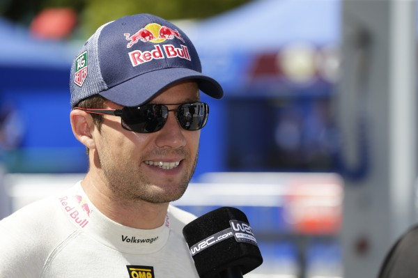 WRC 2013 AUSTRALIE Seb OGIER interview