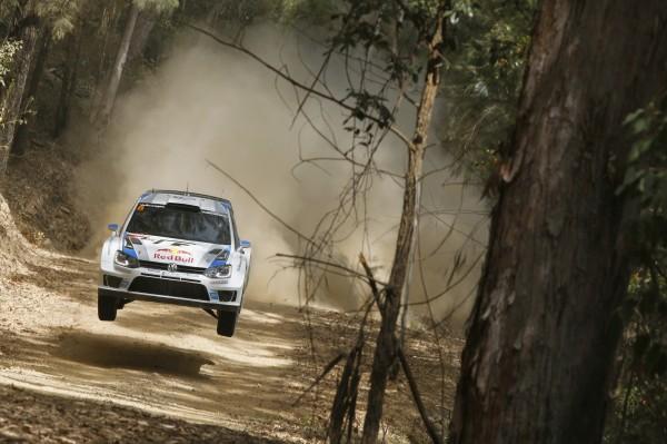 WRC 2013 AUSTRALIE VW POLO OGIER Etape 1.