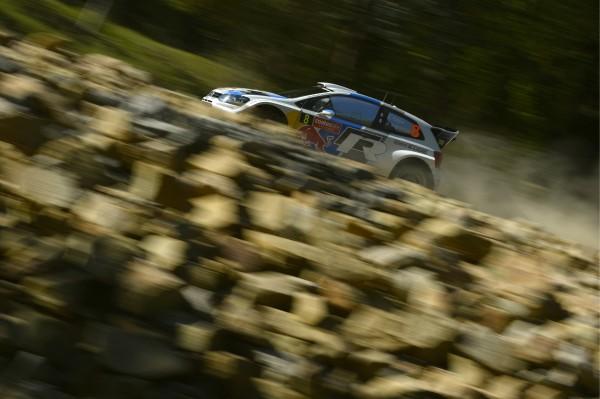 WRC 2013 AUSTRALIE VW POLO SEB OGIER - JULIEN INGRASSIA 1er le 15