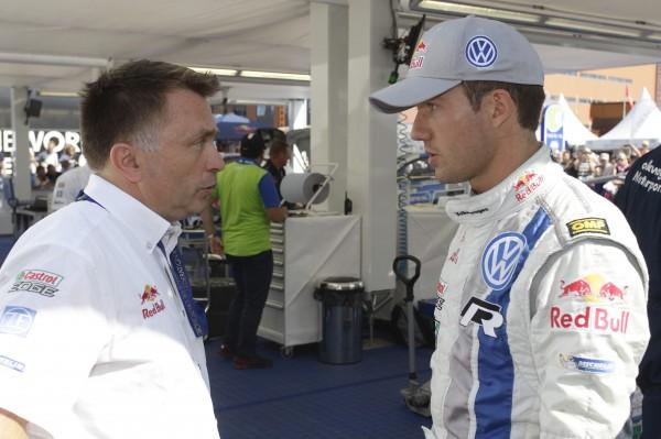 WRC 2013 FINLANDE JOST CAPITO et SEB OGIER.