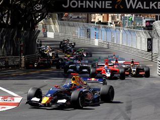 Grand Prix de MONACO-WSR-Départ.