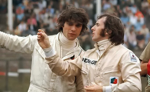 François CEVERT-avec-Jackie-STEWART en 1971