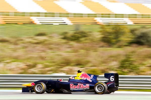 DANIIL KVYAT test F1
