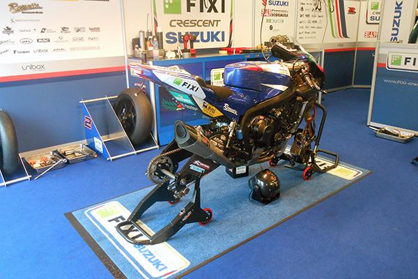 Toujours une SUZUKI, mais différente de la moto d'endurance _ Photo Gilles VITRY autonewsinfo