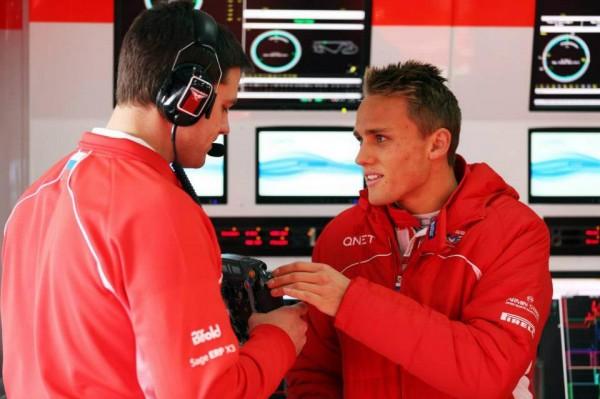 F1 2013 MAX CHILTON Team MARUSSIA